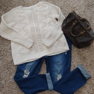 Excellent condition XL Old Navy cable sweater
